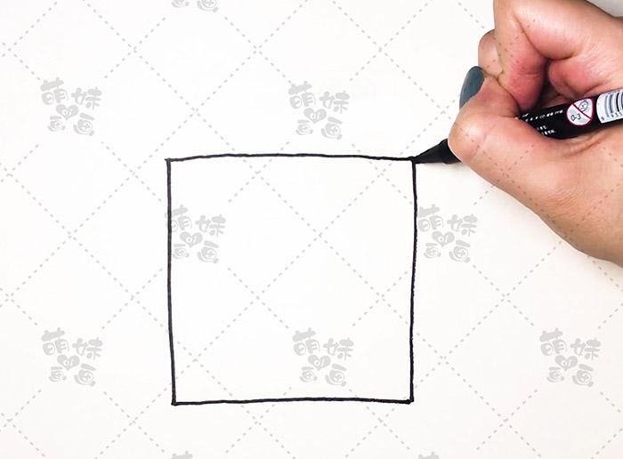 数字11画洗衣机-步骤2