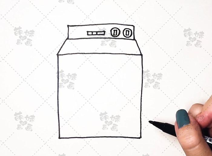 数字11画洗衣机-步骤3