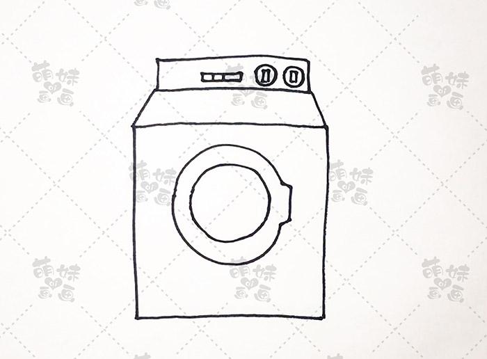 数字11画洗衣机-步骤4