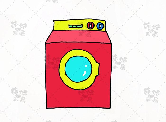 数字11画洗衣机-步骤5