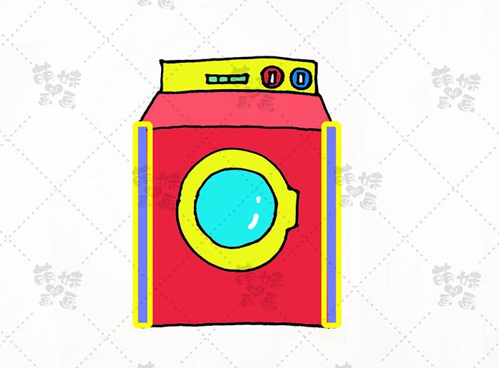 数字11画洗衣机-步骤6