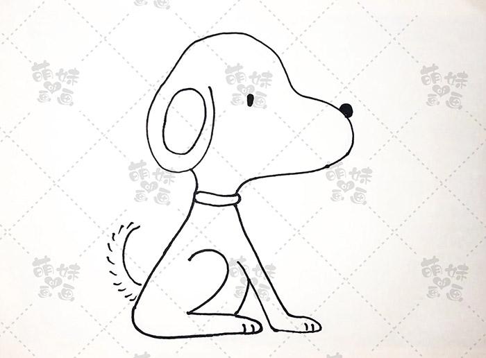 数字12画小狗-步骤4