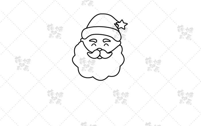 圣诞老人-步骤2