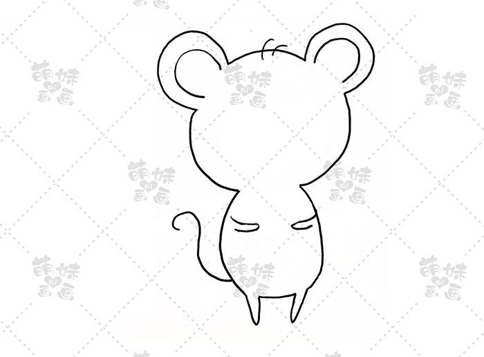 老鼠吃饺子-步骤1