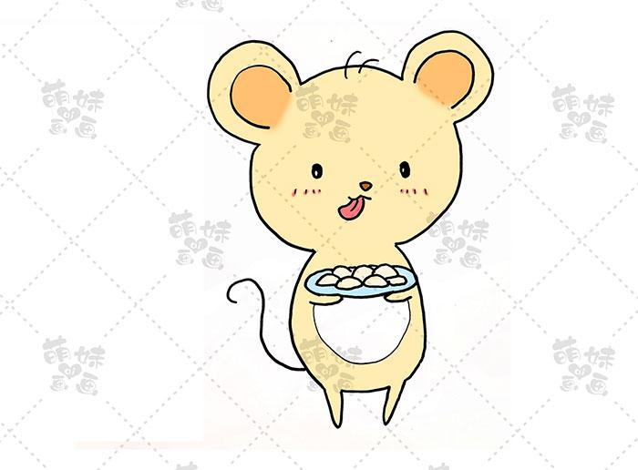老鼠吃饺子-步骤3