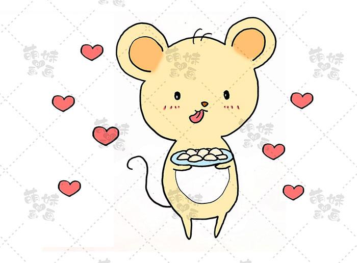 老鼠吃饺子-步骤4