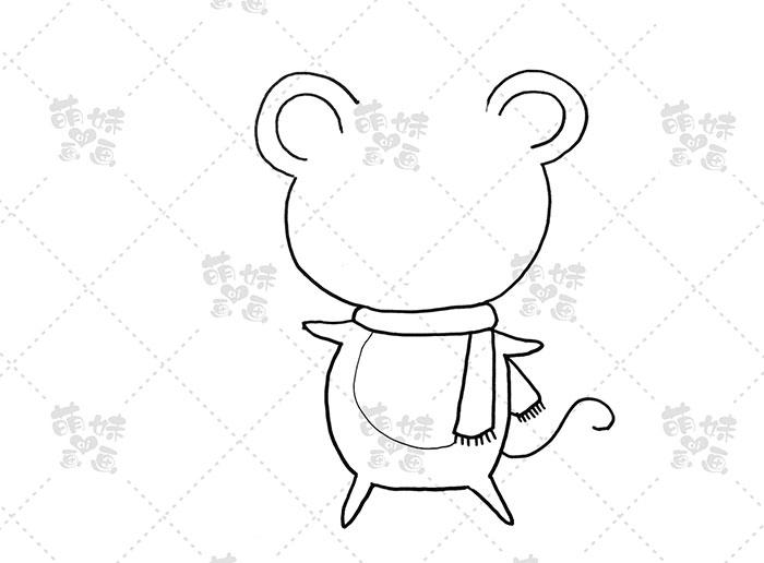 老鼠放鞭炮-步骤1