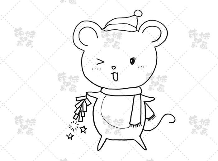 老鼠放鞭炮-步骤2