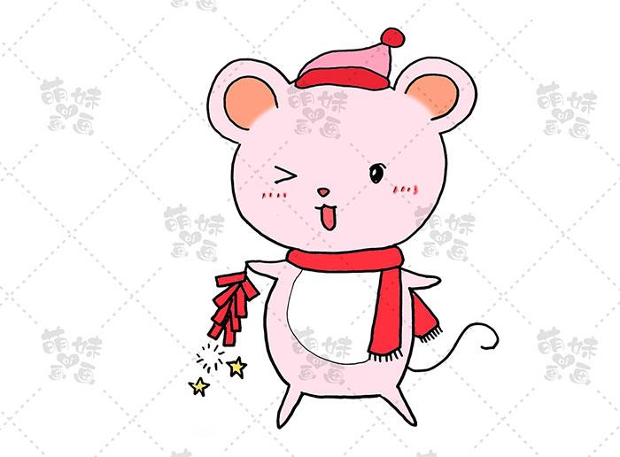 老鼠放鞭炮-步骤3