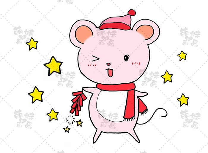 老鼠放鞭炮-步骤4