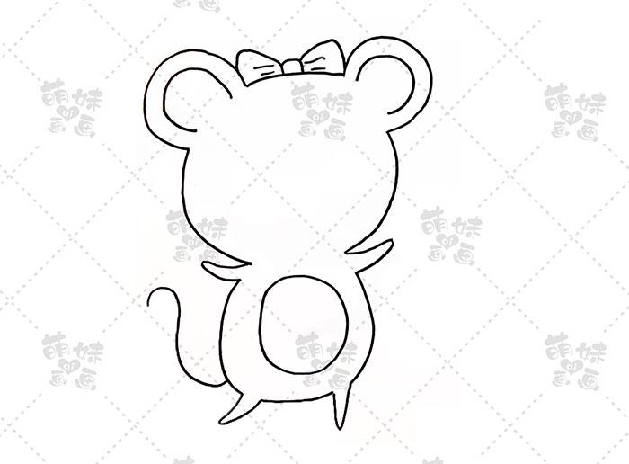 老鼠挑灯笼-步骤1