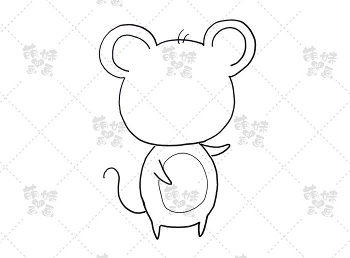 老鼠祝福-步骤1