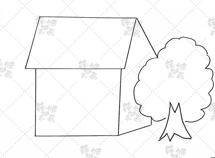 宅家抗击疫情手抄报模板教程-步骤1